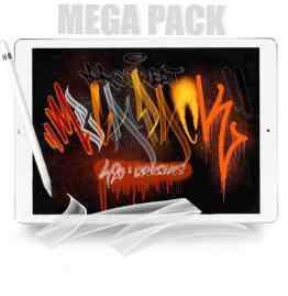 Procreate Mega Pack