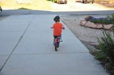 Keep pedaling kid!