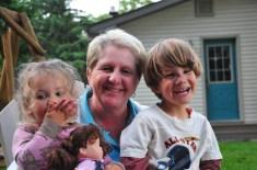 Grandma Pat and the kids