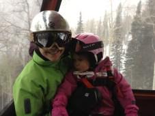 Kari and Tegan on the Gondola