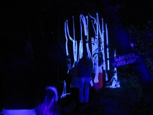 Red Butte Gardens Halloween show