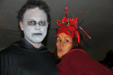 White faced Bryan and Mardi Gras Heather
