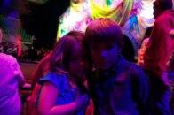 Kids in neon