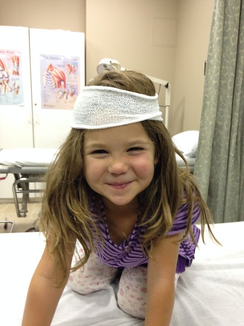 The happy patient