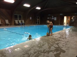 Wyoming hotel. With pool of course.