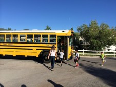 Getting on the bus