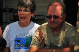 Grandpa and Grandma, a couple of loons.