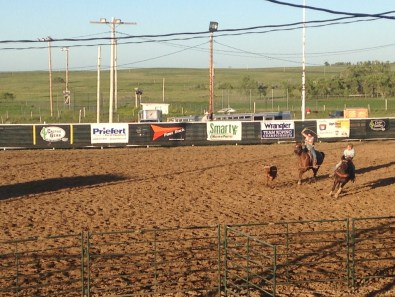 South Dakota Rodeo. Part of the fun of driving is finding little gems like this.