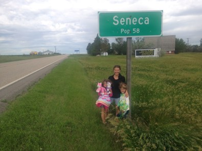 Seneca South Dakota. Had to stop and take a picture as we were driving through.
