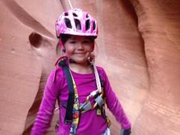 Tegan in canyon
