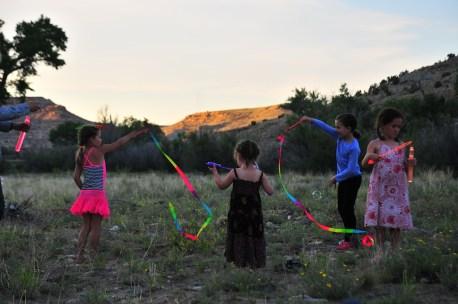 Kid ribbon session