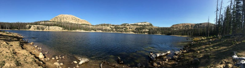 Wall Lake pano