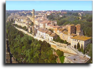 Tourism and tourist places in Colle di Val dElsa