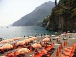 Arienzo Beach - the private and public parts