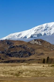 An unusual rocky outcrop