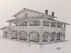 Bouwgrond kopen in Toscane, royale bouwkavel 2 Borgo La Casa, Casentino