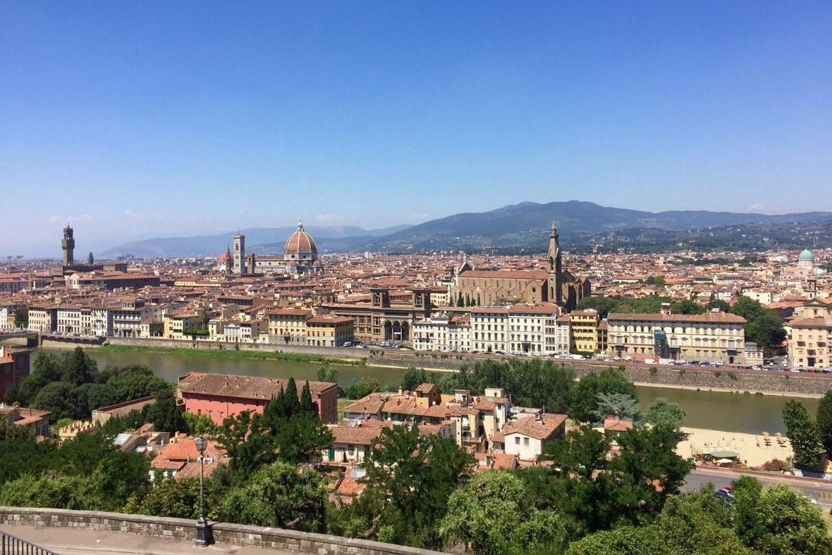 Bezoek Florence Toscane Vakantievilla Borgo La Casa