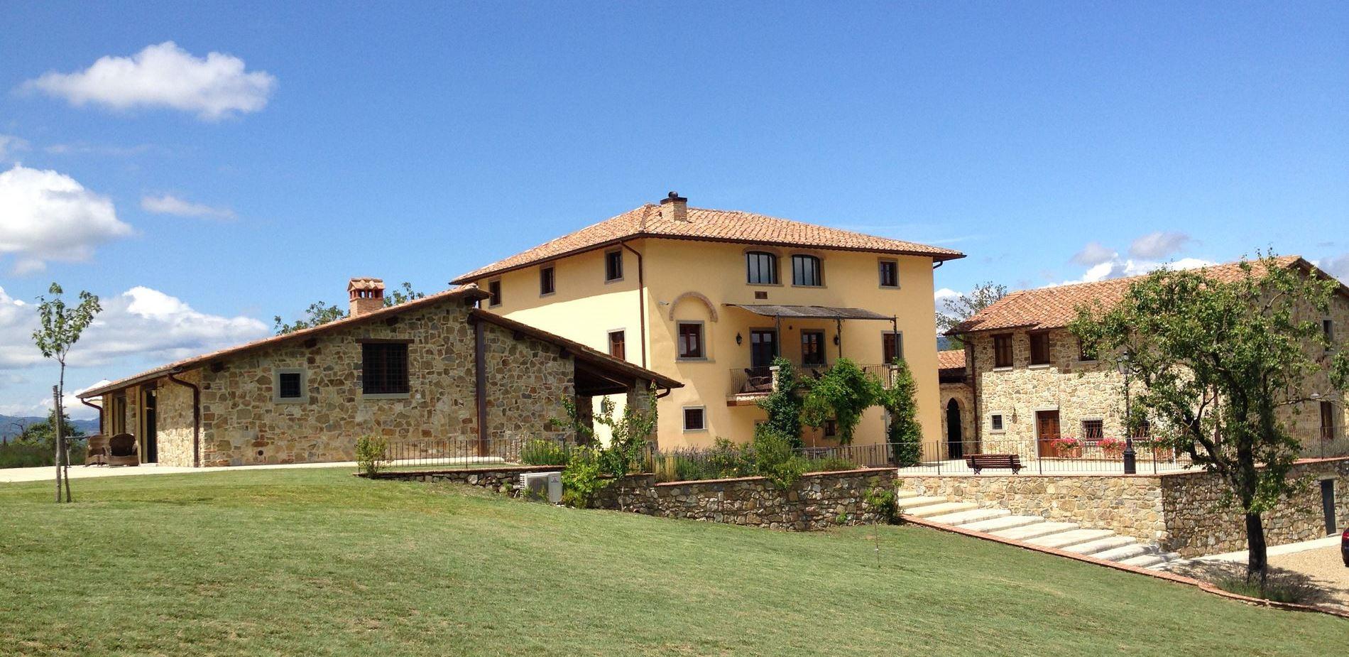 vakantiewoning vakantiehuis zwembad airco Toscane 10 8 6 4 persoons