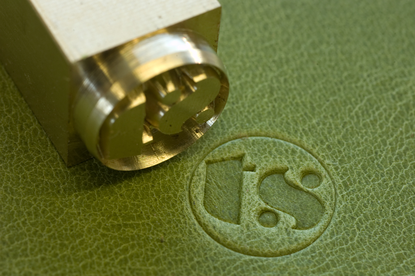 New Website Logo Leather Stamp