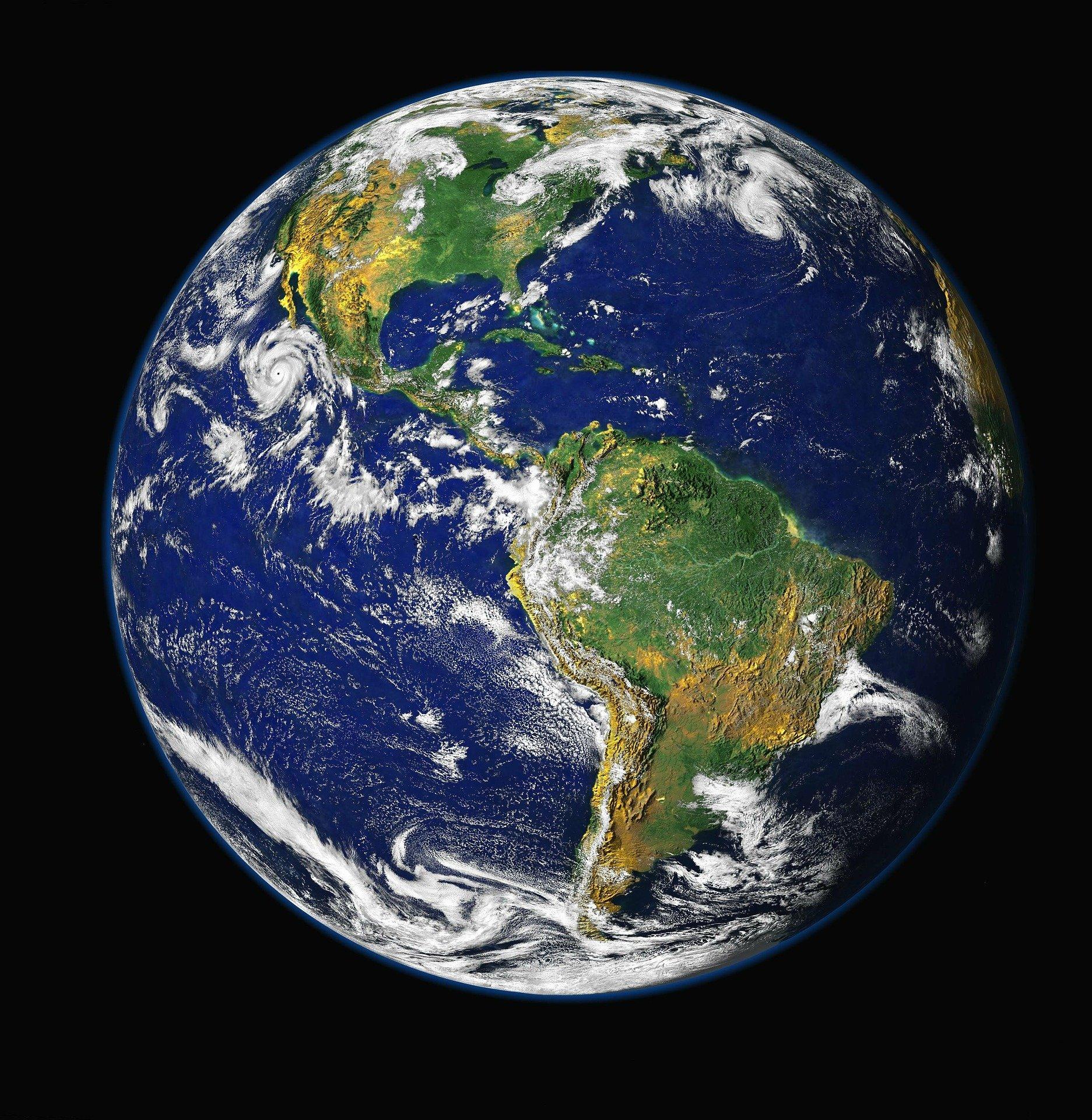 宇宙から見た地球