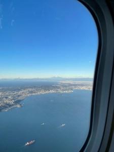 JAL初日の出・初富士フライト2021羽田空港に戻ってきた