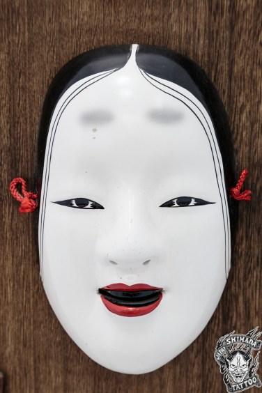 Máscara Hannya (Foto Rafael Lucente)