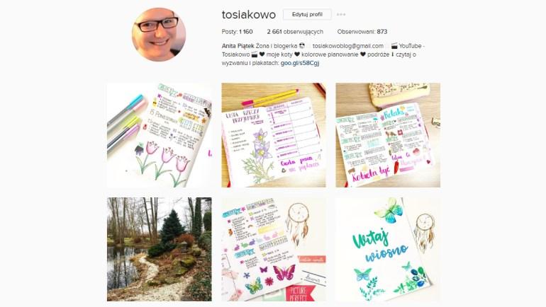 bullet journal po polsku instagram