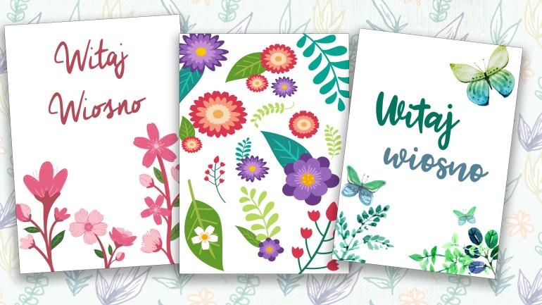 Plakaty Wiosenne Do Pobrania I Wydrukowania Za Darmo