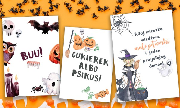 Plakaty na Halloween