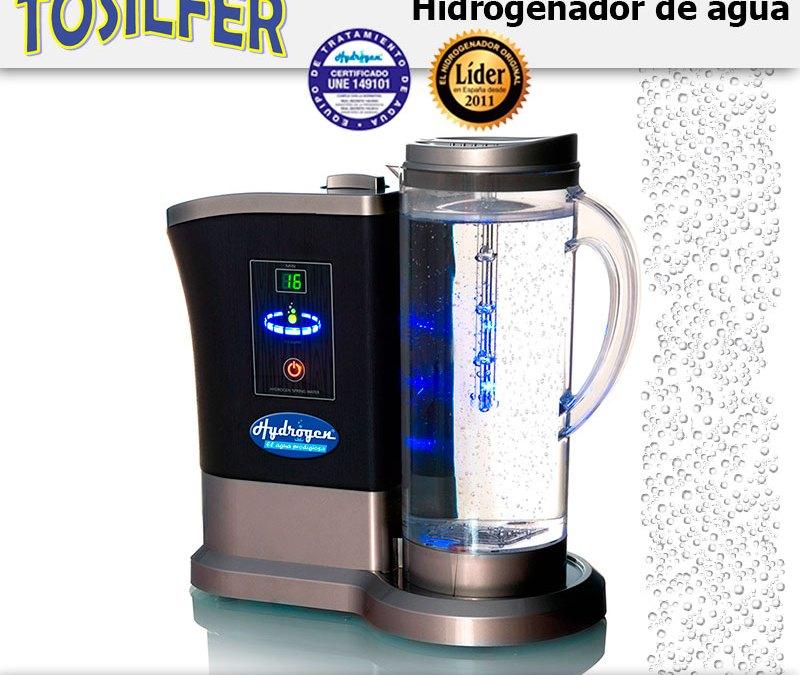 Beneficio del agua hidrogenada con Hydrogen®.