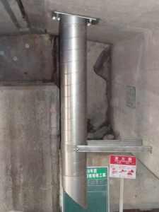 天板プレート一体型 スパイラル直管仕様例