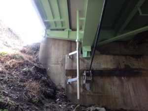 上下部間を受桝方式で高気密ステンレス排水管を設置
