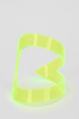 Bare Collection Neon Teardrop Cuff Bracelet