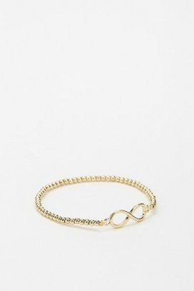 Urban Outfitters Scripted Stretch Bracelet
