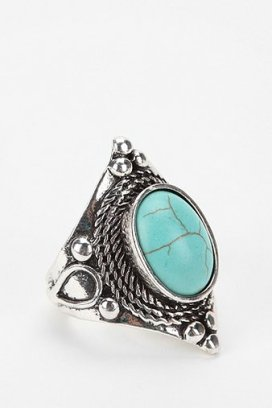Roped Stone Ring