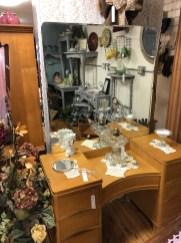 MCM vanity with mirror.