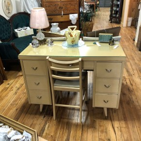 MCM desk and chair