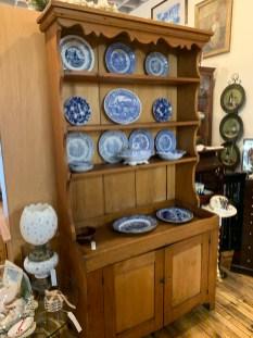 Circa 1800's Dry Sink with Shelf.