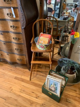 Vintage Bentwood High Chair