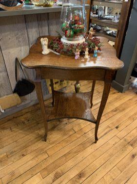 Quartersawn Oak Parlor Table