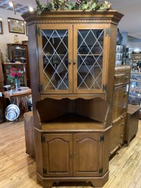 Early American Corner Cabinet is perfect for your home!