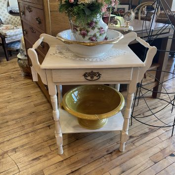 Chalk Painted Dry Sink