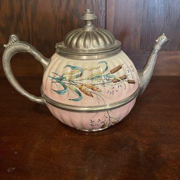 Graniteware tea pot