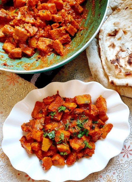 Suran Sabzi - Served with Roti