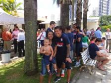 Nick Rimando and fans.