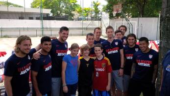 U.S. Soccer Team and fans.