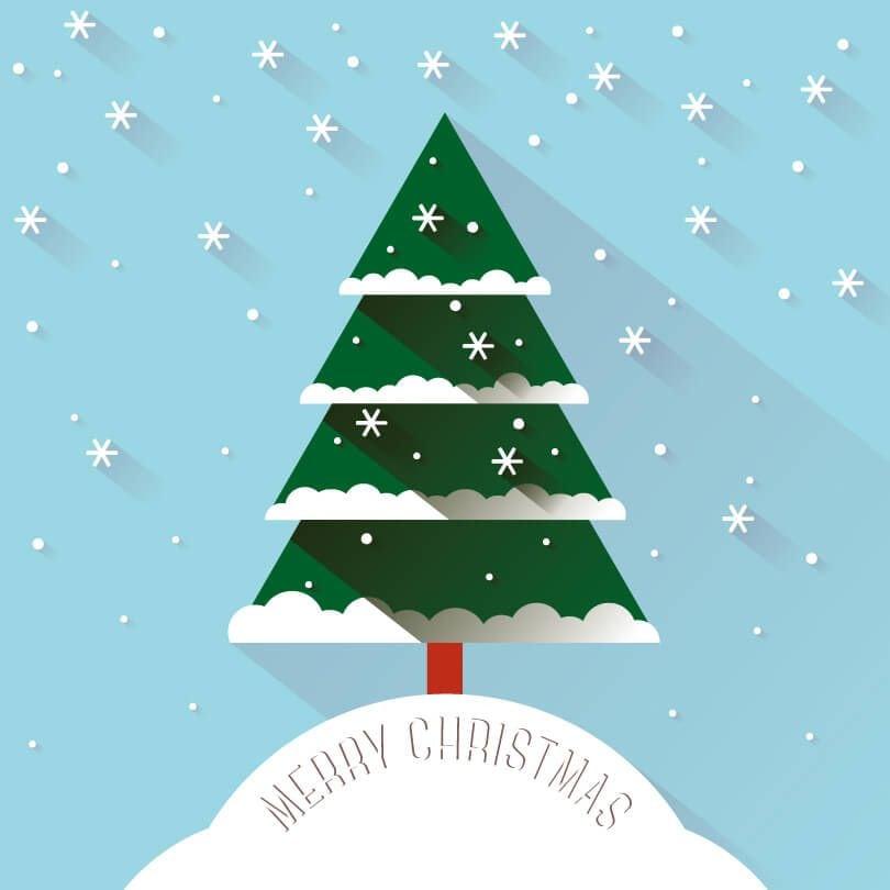 Christmas-Snow-Tree-Vector