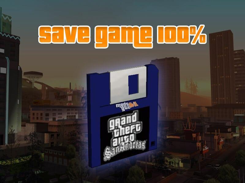 Savegame Complete GTA San Andreas