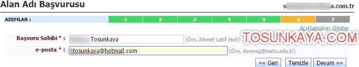 adsoyad.com.tr domain alma belgesiz nic.tr 17