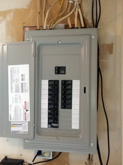 small resolution of 100 amp panel replacing an fpe in coon rapids